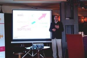 Damian Kalnins anuncia las características de la nueva unidad de negocios Cloud & Mobility de Softline