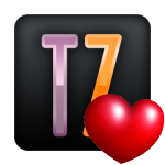 Logo Tecnozona corazon