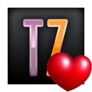 Logo Tecnozona corazon