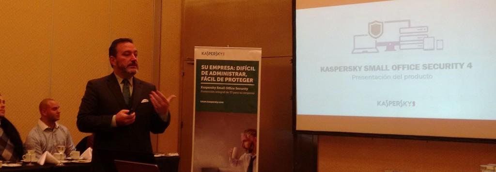 Daniel Molina describe las prestaciones de la nueva versión de la suite de seguridad para PyMEs de Kaspersky
