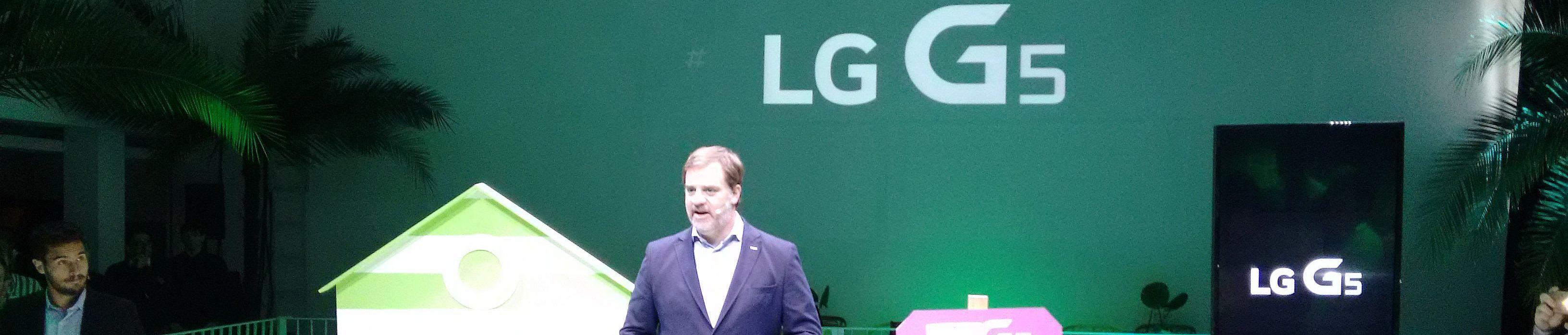 """LG G5: No sólo Facebook tiene """"amigos"""""""
