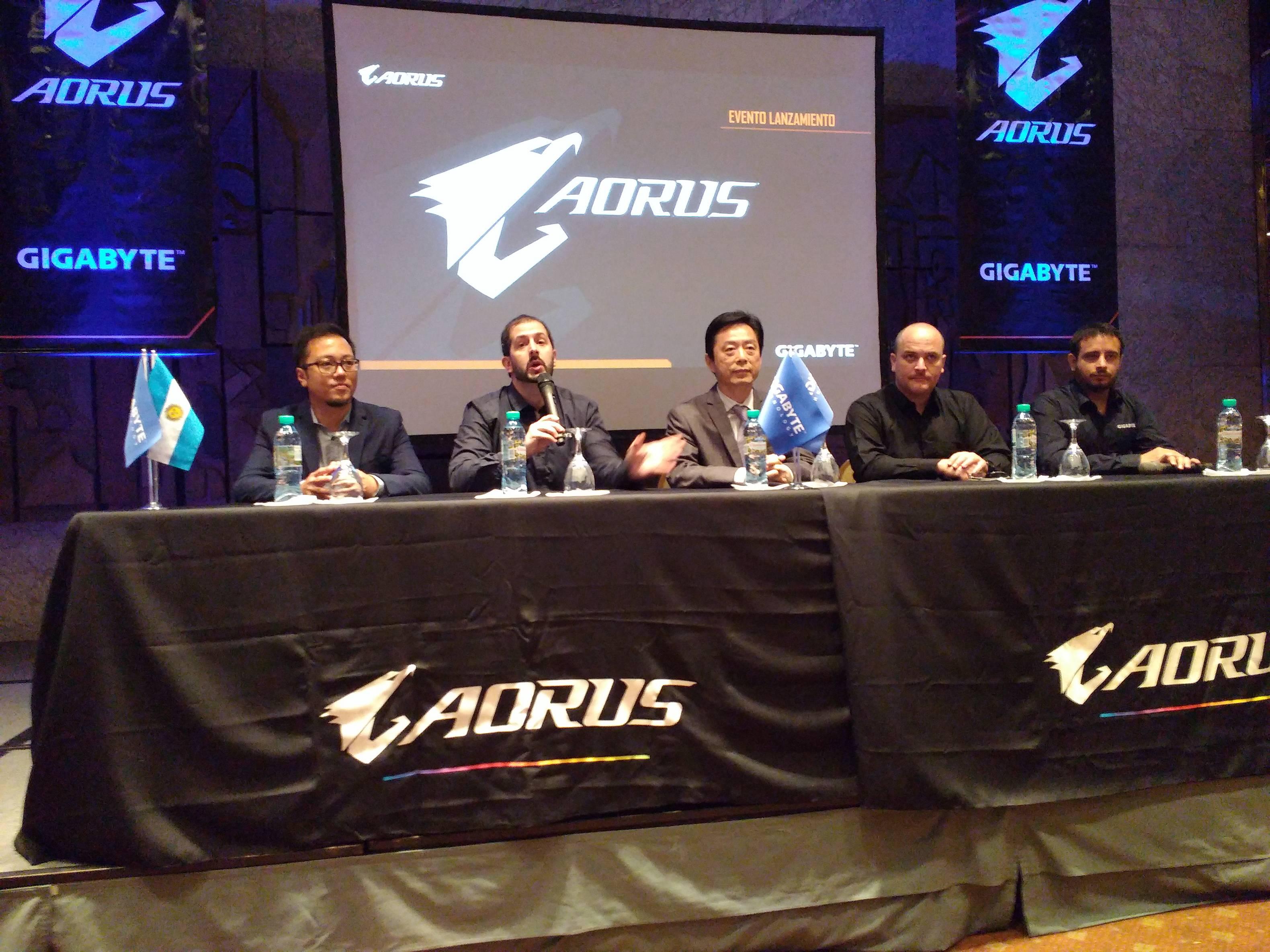 Aorus: El águila de los gamers Gigabyte
