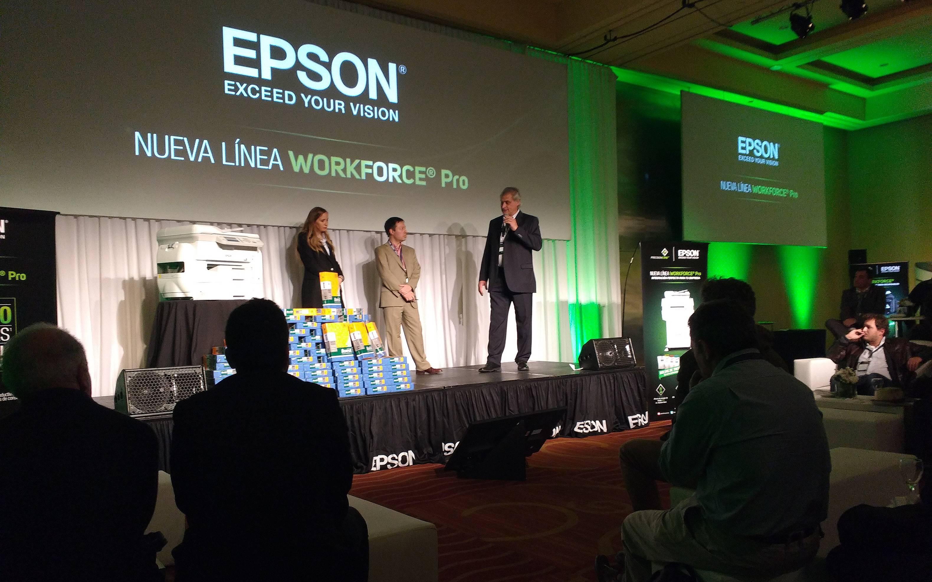 Epson: Más fuerza de trabajo a chorro
