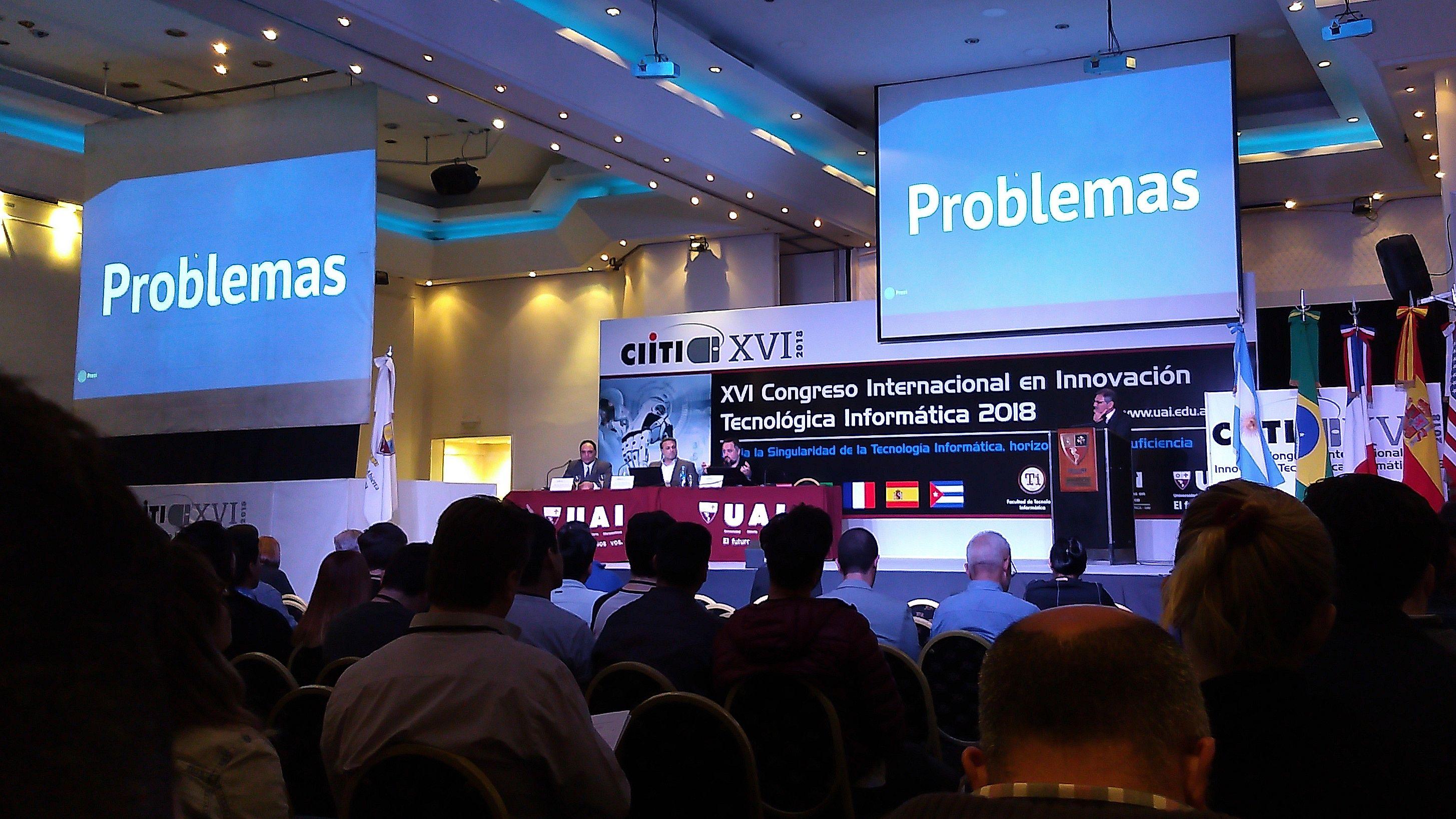 CIITI 2018: Entre la singularidad y la robótica