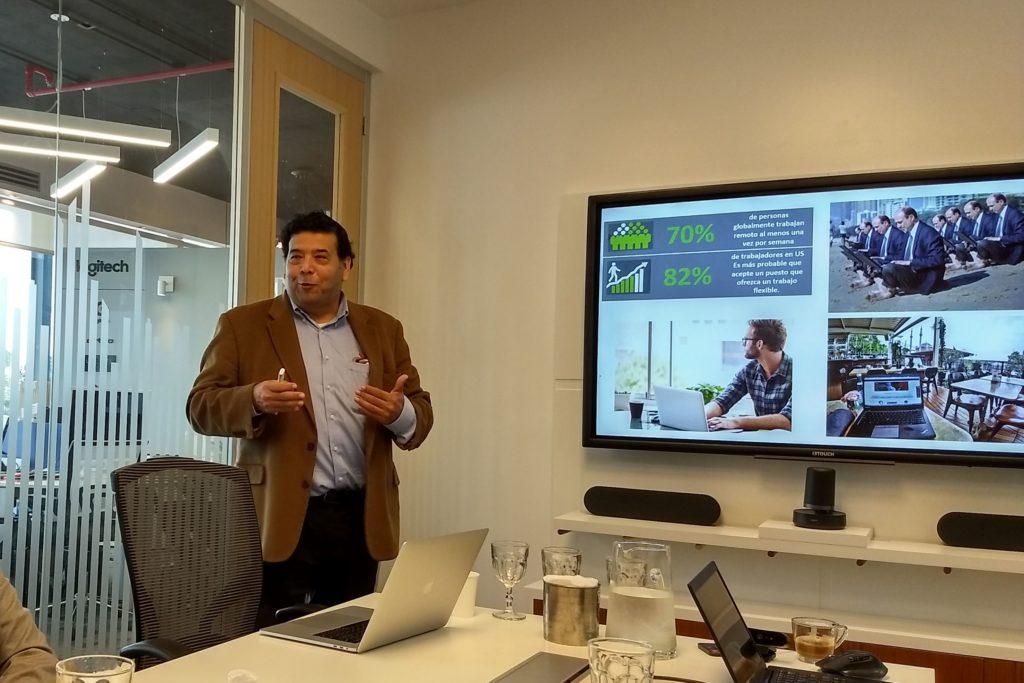 Fernando Bejarano describe las características del acuerdo desde la visión de Zoom.
