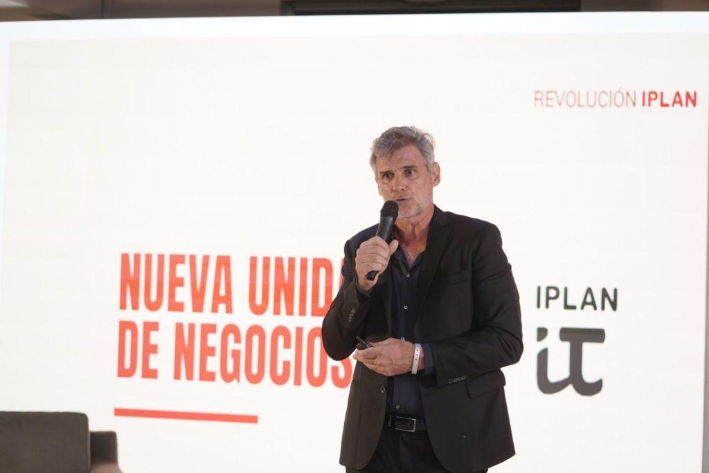 Pablo Saubidet, Presidente de iPlan, cuenta las novedades que esperan a la compañía en el 2020 (foto gentileza Ballero, Landoni y Asoc.)